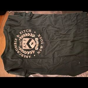 Green Abercrombie tshirt